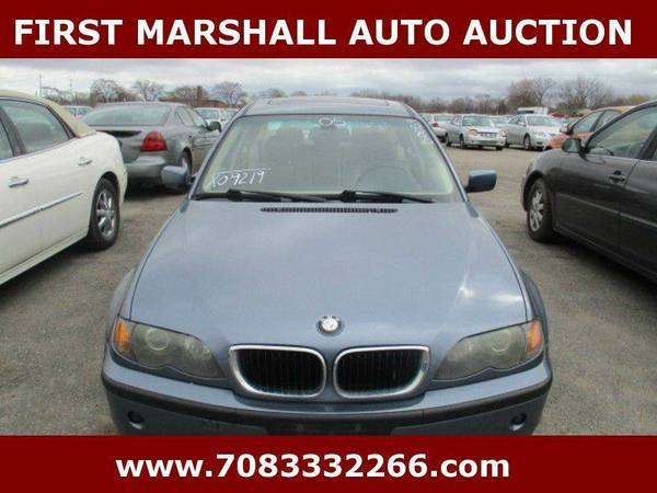 2005 BMW 3 Series 325i 4dr Sedan - First Marshall Auto Auction