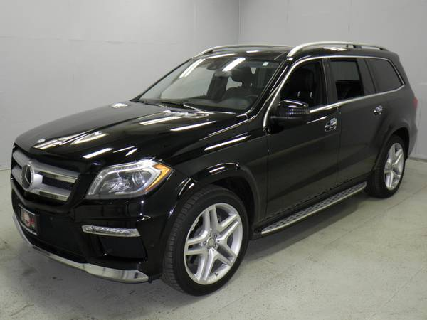 2014 MERCEDES-BENZ GL550 4MATIC SUV LOADED! 1 OWNER! CLEAN CAR FAX!