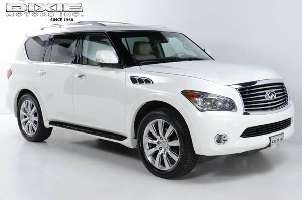REDUCED 2012 INFINITI QX56 4WD REAL NICE STICKER NEW F0R $69,720