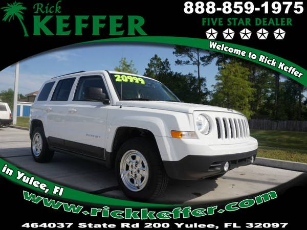 2016 Jeep Patriot Sport 4dr SUV Sport