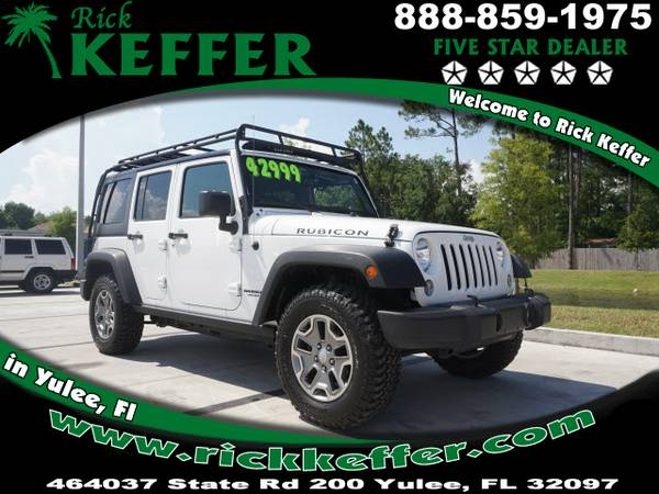 2015 Jeep Wrangler Unlimited 4x4 Rubicon 4dr SUV Rubicon