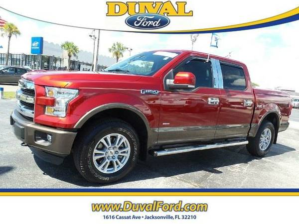 2015 *Ford F-150* Lariat - GOOD OR BAD CREDIT!