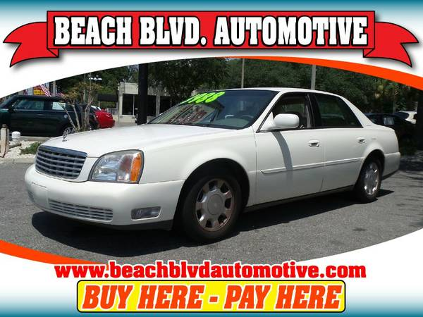 2000 Cadillac DeVille WHITE Call Today!