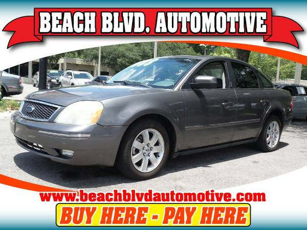 2005 Ford Five Hundred GRAY ON SPECIAL!