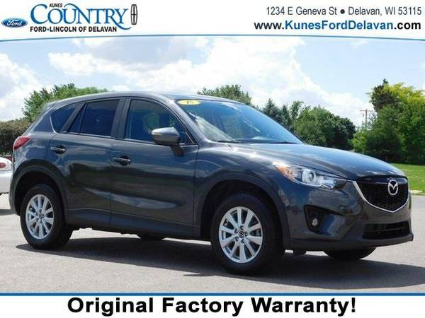 2015 *Mazda CX-5* Touring - Gray
