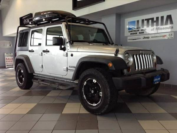 2011 JEEP WRANGLER UNLIMITED SPORT only 33,475 miles