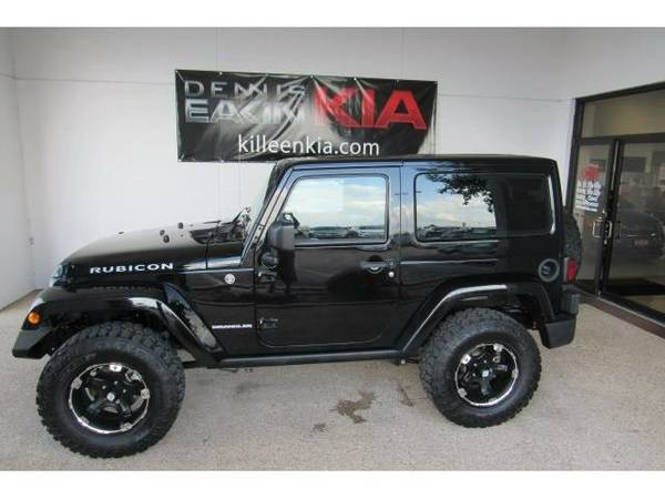 2013 *Jeep Wrangler* Rubicon - (Black Clearcoat)