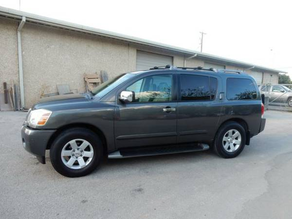 2004 Nissan Armada LE 1 Owner Clean CarFax Super Family Hauler