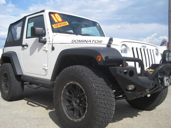 @@@ 2010 Jeep Wrangler 1 Owner Lifted Must See@@@