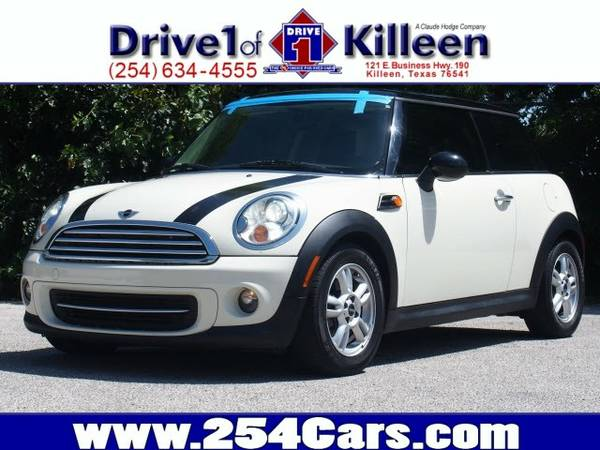 2011 Mini Cooper- Low Miles, Leather, Navigation, Sunroof!