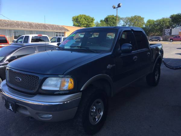 2001 Ford F-150 King Ranch 4X4