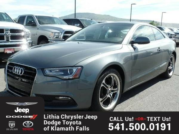 2013 Audi A5 COUPE PREMIUM PACKAGE