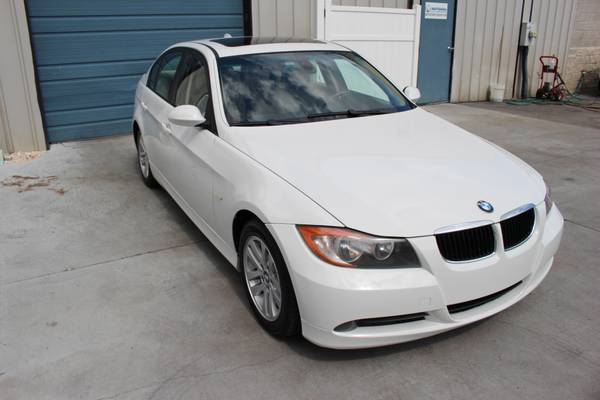 2007 BMW 3 Series 328i Sunroof Fog Lights Alloy Wheels 07 Sedan 30 mpg