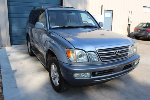 2004 Lexus LX 470 Leather 3rd Row Sunroof 4WD SUV 04 LX 470 Navigation