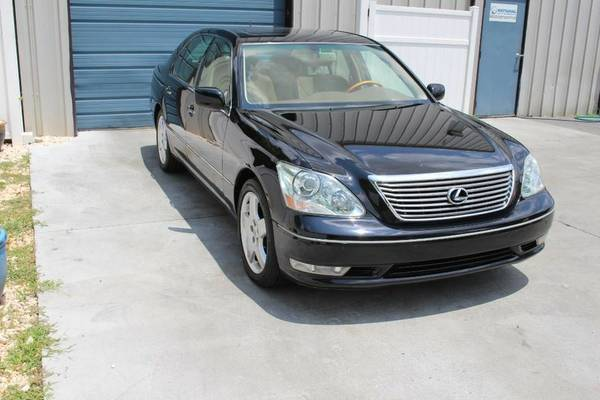 2005 Lexus LS 430 Luxury Pkg Leather Bluetooth Sdn 05 LS430 Navigation