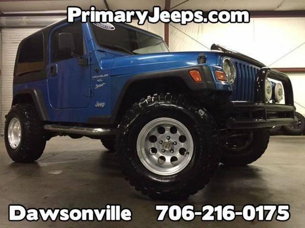 1999 *Jeep* *Wrangler* 4x4 Sport -IN HOUSE FINANCE-FREE...