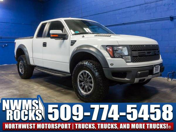 Lifted 2010 *Ford F150* SVT Raptor 4x4 - 2010 Ford F-150 SVT Raptor...