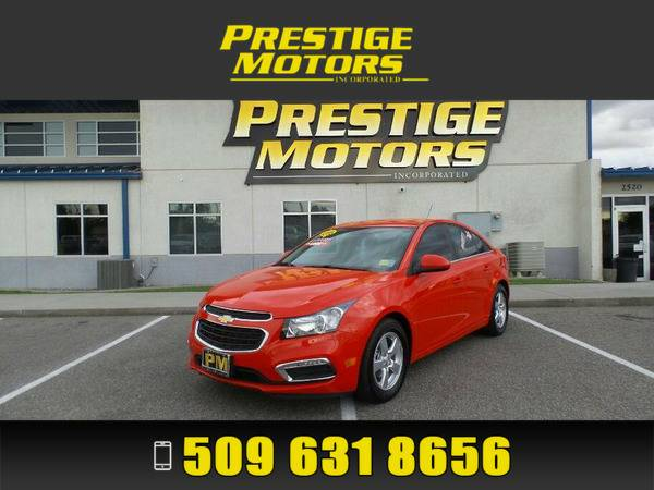 2016 Chevrolet Cruze Limited Red