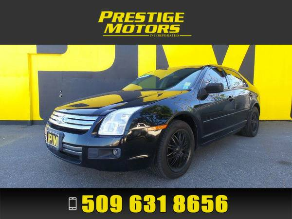 2007 Ford Fusion Black