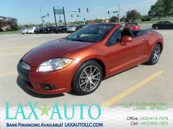 2012 Mitsubishi Eclipse GS Sport Spyder Convertible * 62,875 Miles!