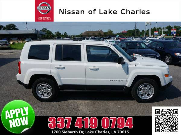 2014 Jeep Patriot Bright White Clearcoat