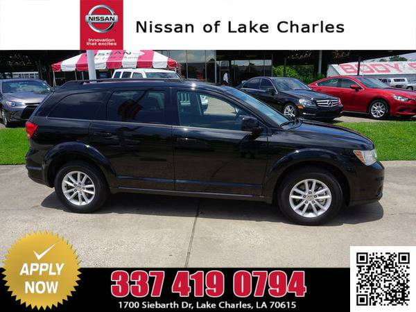 2016 Dodge Journey Pitch Black Clearcoat