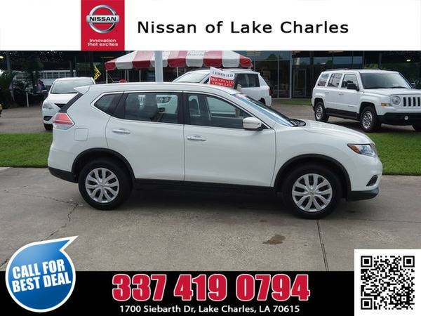 2015 Nissan Rogue Pearl White