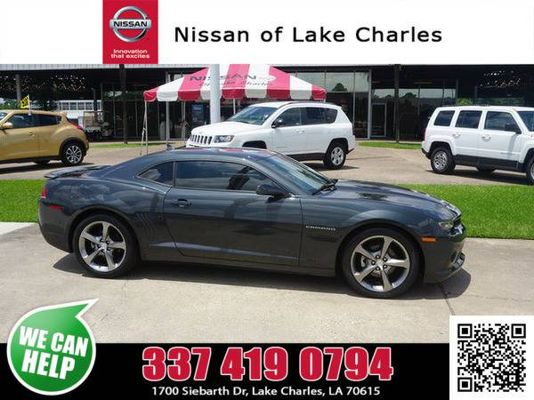 2014 Chevrolet Camaro Ashen Gray Metallic