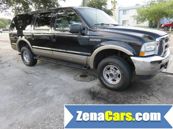 2003 FORD EXCURSION LIMITED 4WD VERY CLEAN