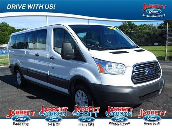 2015 *Ford Transit-350* XLT Low Roof Wagon 148 in. WB - (WHITE)