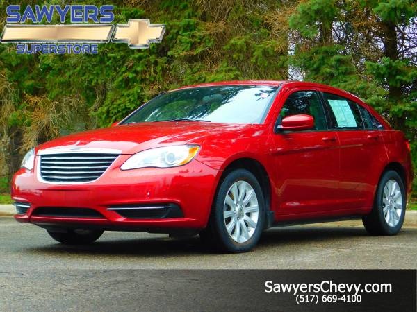 Sweet Chrysler 200 Touring -Great color!
