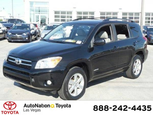 2008 Toyota RAV4 Ltd SKU:85183483 Toyota RAV4 Ltd SUV