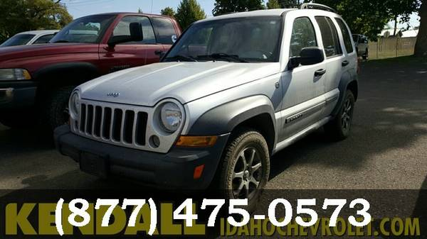 2007 Jeep Liberty SILVER Great Price**WHAT A DEAL*