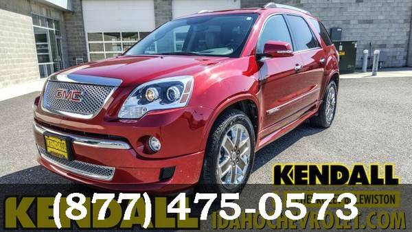 2012 GMC Acadia Crystal Red Tintcoat ***HUGE SAVINGS!!***