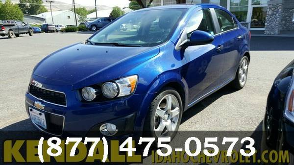 2014 Chevrolet Sonic Cool Blue Good deal!***BUY IT***