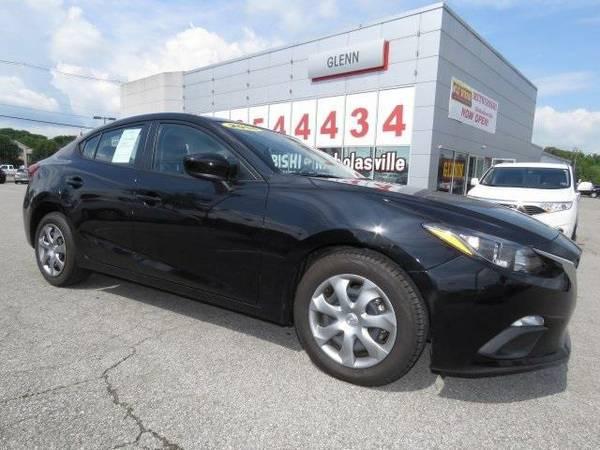 2014 *Mazda Mazda3* i - Mazda Jet Black Mica