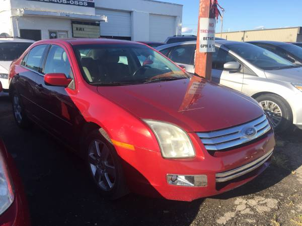 2006 FORD FUSION SEL MODEL