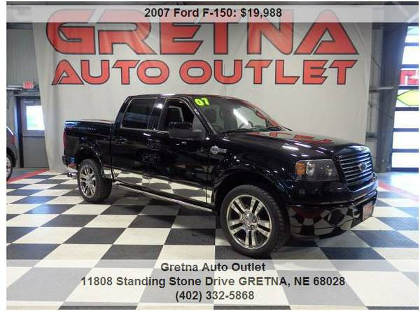 2007 Ford F-150*HARLEY DAVIDSON SUPERCREW 4X4 EDGE CHIPPED ROOF &COVER