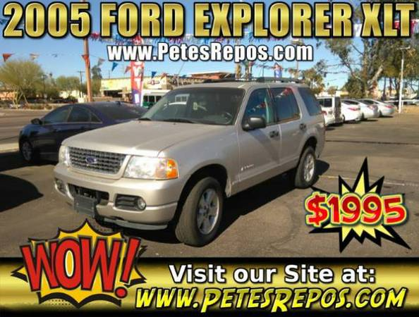 2005 Ford Explorer XLT 4x4 Like New - Explorer