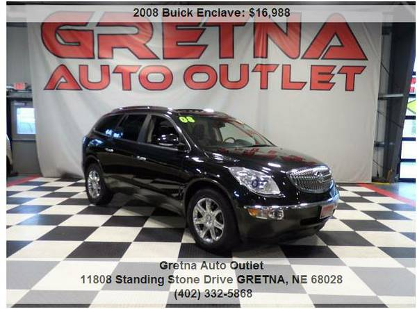2008 Buick Enclave*CXL AWD DUAL MOONROOF 83K BOSE QUADS LOADED*CALL US