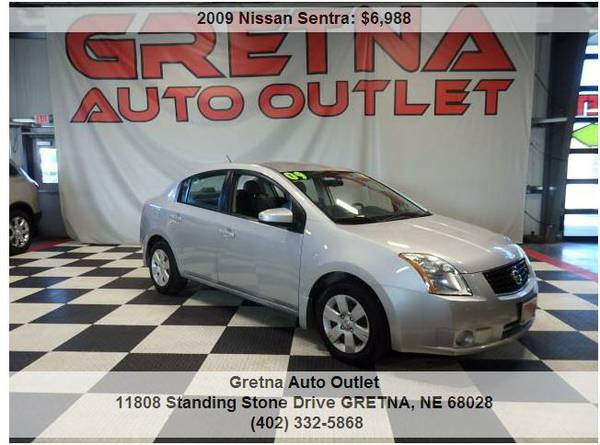 2009 Nissan Sentra**2.0L LOW MILES 94K BACK 2 SCHOOL CAR RIGHT HERE!!!