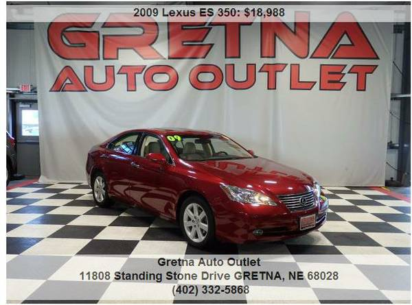 2009 Lexus ES 350*1 OWNER ONLY 35,000 MILES LEATHER LOADED MOONROOF**