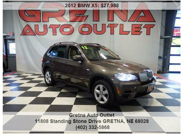 2012 BMW X5**XDRIVE 4.4L TWIN TURBO V8 ONLY 64K EVERY OPTION*TEXT 24/7