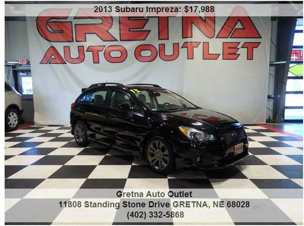 2013 Subaru Impreza**LIMITED 1 OWNER AWD ONLY 32K HARD TO FIND!!**CALL