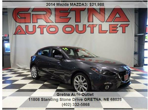 2014 Mazda MAZDA3**GRAND TOURING 1 OWNER ONLY 24,000 MILES**CALL 24/7