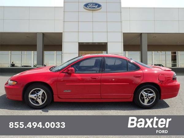 2001 Pontiac Grand Prix GTP 4dr Supercharged Sedan GTP
