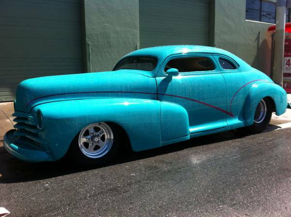 1947 Chevrolet Fleetline Pro Touring~Street Tubbed & Chopped Hot Rod.