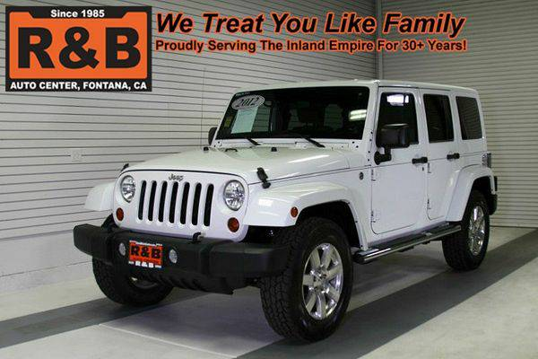 2012 *Jeep* *Wrangler* *Unlimited* -LOW PAYMENTS