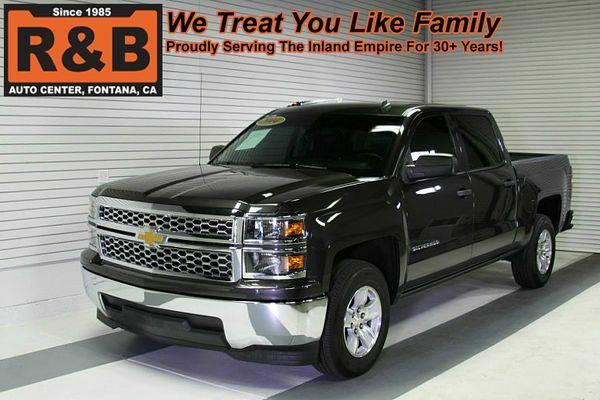 2014 *Chevrolet* *Silverado* *1500* -LOW PAYMENTS