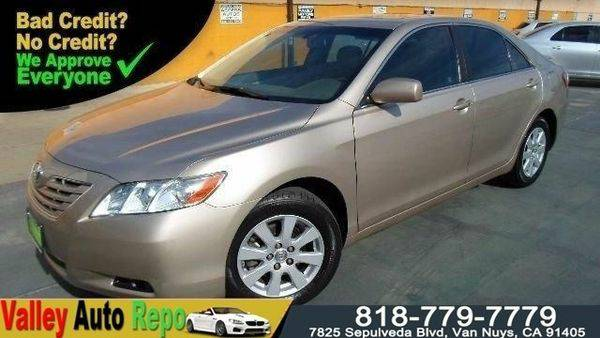 2007 *Toyota* *Camry* XLE -GET *PRE-APPROVED* TODAY! 1000 down!!!